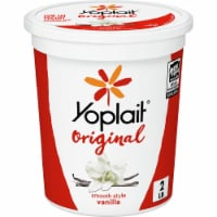 Yoplait Original Vanilla Low Fat Yogurt