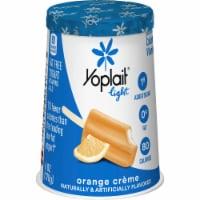 Yoplait Light Orange Creme Fat Free Yogurt