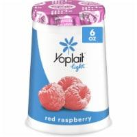 Yoplait Light Red Raspberry Fat Free Yogurt - 6 oz