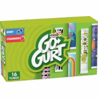 Yoplait Go-Gurt Berry And Strawberry Low Fat Yogurt Tubes