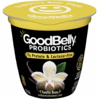 GoodBelly Probiotics Lactose-Free Vanilla Bean Yogurt
