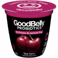 GoodBelly Probiotics Lactose-Free Black Cherry Yogurt