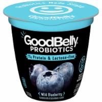 GoodBelly Probiotics Lactose-Free Wild Blueberry Yogurt