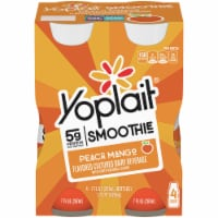Yoplait Peach Mango Smoothie Drinks
