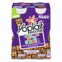 Yoplait Cinnamon Toast Crunch Smoothies 4 Count