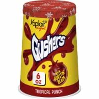 Yoplait Original Tropical Punch Gushers with Burstin' Beads Low Fat Yogurt