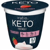 Ratio Keto Friendly Strawberry Dairy Snack
