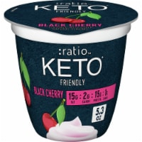 Ratio Keto Friendly Black Cherry Dairy Snack