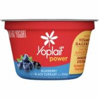 Yoplait Power Blueberry with Black Currant and Chia Low Fat Yogurt - 5.3 oz
