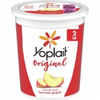 Yoplait Original Harvest Peach Low Fat Yogurt - 2 lb
