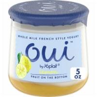 Oui by Yoplait Lemon French Style Yogurt