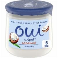Oui by Yoplait Coconut French Style Yogurt