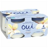 Oui by Yoplait Gluten Free Vanilla French Style Yogurt 4 Count