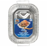 EZ Foil Z01986 Roaster Pan with Handles - pack of 12