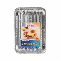 E-Z Foil 00Z90908 Super Broiler Pans- - pack of 12 - 12