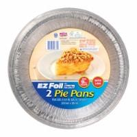 Ez Foil 6798599 9 in. EZ Foil Pie Pan, Silver - Pack of 9