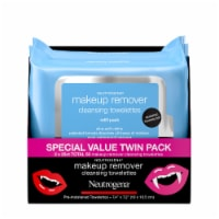 Neutrogena® Makeup Remover Cleansing Towelettes Twin Pack - 2 pk / 25 ct