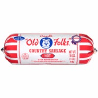 Purnell's Old Folks Hot Country Sausage Roll
