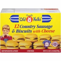 Purnell's Old Folks Country Sausage & Cheese Biscuits