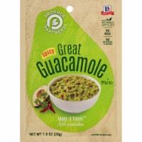 McCormick Produce Partners Spicy Great Guacamole Seasoning Mix