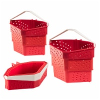 Hutzler Collapsible Cooker - Red