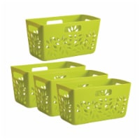 Hutzler Pantry Basket Set - Green