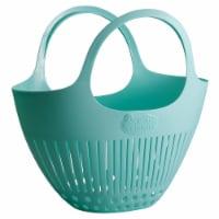 Hutzler Garden Colander Harvest Basket - Blue