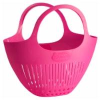 Hutzler Garden Colander harvest Basket - Pink