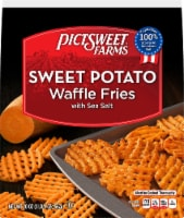 PictSweet Farms Waffle Cut Sweet Potato Fries With Sea Salt