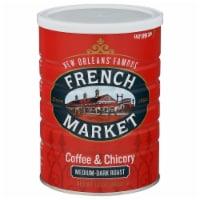 French Market Medium-Dark Raost Coffee & Chicory