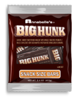 Annabelle's Big Hunk Snack Size Candy Bars Hanging Bag