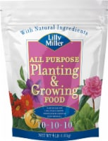 Lilly Miller All Purpose 10-10-10 Planting & Growing Food Fertilizer