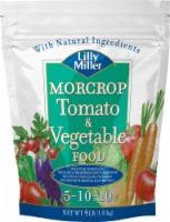 Lilly Miller Morcrop Tomato & Vegtable Food - 4 lb