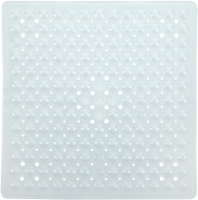 SlipX Solutions Essential Square Shower Mat - Clear - 21 x 21 in