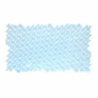 SlipX Solutions Burst of Bubbles Bath Mat - Light Blue