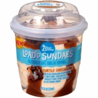 Blue Bunny Load'd Sundaes Turtle Cheesecake Frozen Dairy Dessert