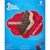 Blue Bunny Neapolitan Frozen Dairy Dessert Sandwiches