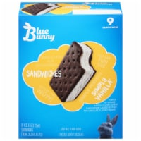 Blue Bunny Simply Vanilla Ice Cream Sandwiches