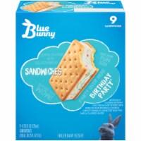 Blue Bunny Birthday Party Frozen Dairy Dessert Sandwiches
