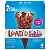 Blue Bunny Brownie Bomb Load'd Cones