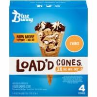 Blue Bunny S'mores Load'd Cones
