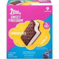 Blue Bunny Sweet Freedom Vanilla Ice Cream Sandwiches
