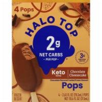 Halo Top Keto Chocolate Cheesecake Ice Cream Pops - 4 ct / 2.65 fl oz