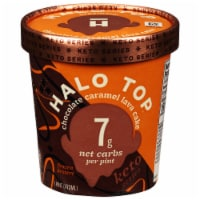 Halo Top Chocolate Caramel Lava Cake Frozen Dessert - 16 fl oz