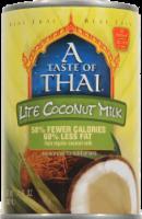 A Taste of Thai Lite Coconut Milk - 13.5 fl oz