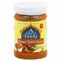 A Taste of Thai Peanut Satay Sauce