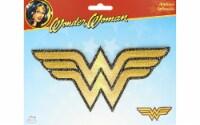Simplicity Applique Iron On Lg Wonder Woman Logo - 1