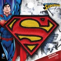 Wrights DC Comics Iron-On Applique-Superman Logo 2 X2.75 - 1