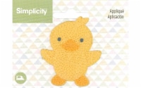 Simplicity Applique Iron On Baby Chick - 1
