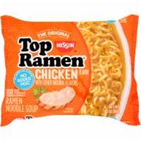Nissin Top Ramen Chicken Flavor Ramen Noodle Soup